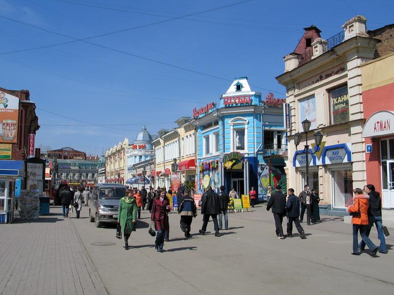 Улице Урицкого в Иркутске присвоят