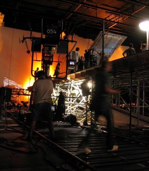 Съёмки фильма Пекло